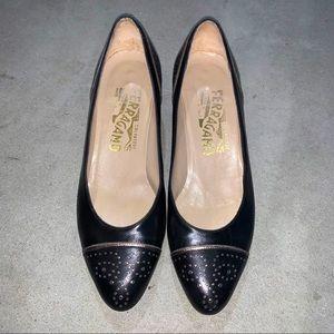 Salvatore Ferragamo Black Shoes